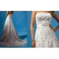China hot sale embroidered wedding gown MR0036 wholesale