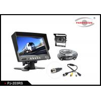 600 TVL CCD Truck Rear View Camera W / 2 Way Input With 7 Inch Monitor
