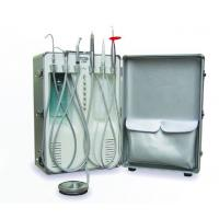 China 550W Portable Dental Unit , 130L/min Mini Suction Air Compressor Dental Chair on sale
