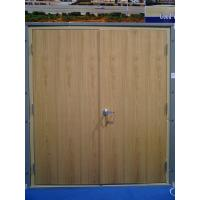 China UL WHI listed 20, 30, 45, 60, 90 mins wooden fire rated proof door double single veneer laminated melamine on sale