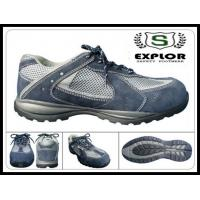 China Men's sport safety shoes composite toe work shoes for women grey wholesale