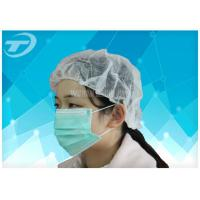 China Dust Proof Hospital Disposable Surgical Caps With Various Color 18gsm To 30gsm wholesale