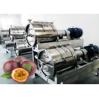 China 440V Voltage Fruit Processing Line Concentrated Juice Plant 10 T / H Capacity wholesale