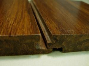 Quality Click Carbonized Strand Woven Bamboo Flooring for sale