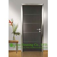 China Customized Ecological Interior Door For Sale, Aluminum Modern Door For Restaurant Use wholesale