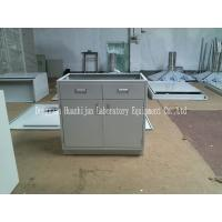China 800*500*600mm Chemistry Lab Tables , Metal Laboratory Cabinets Powder Coated wholesale