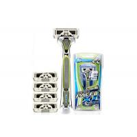 China Stylized Rubber Grip 6 Blades men ' s razors SXA5000 with Sculpting Trimmer wholesale