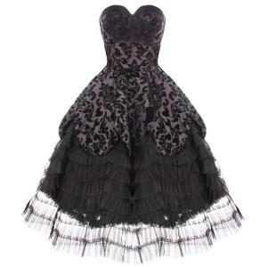China 50s Vintage Rockabilly Prom Sun Dress CS-B09 wholesale