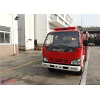 China 4x2 Drive Type Water Tanker Fire Truck ISO9001 Approved With Water Cooling Engine on sale