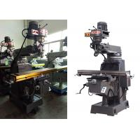 China 3HP Power Bench Top Milling Machine With 80 - 5440 / 16 Grades 60HZ Spindle Speed wholesale