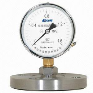 China Diaphragm Pressure Gauge on sale
