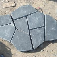 China Slate Meshed Back Flagstone Flooring High Wear And Impact Resistant wholesale