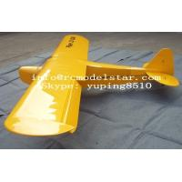China Yellow 157.5 Piper J3 100CC RC Giant Model Airplane Model for Boy 8 - 10 Channels wholesale