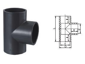 Quality UPVC Tee-UPVC Pipes and Fittings for sale