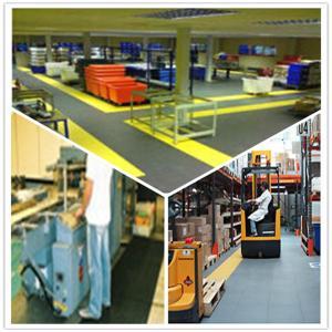 China 3W Industrial Heavy Duty Flooring /Interlocking PVC garage flooring tiles flooring decking wholesale