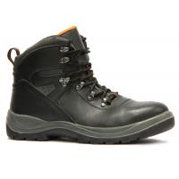 China Oil Resistance Waterproof Steel Toe Work Shoes For Machinery / Port / Chemical Industry wholesale