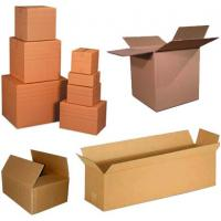 Quality Brown Corrugated Cardboard Flower Packaging Box Virgin Hair Packaging Box for sale