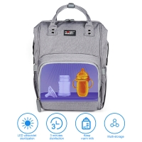 China Multifunctional UV Disinfection Diaper Bag 1000 Hours Heating Life wholesale