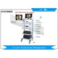 China 900 / 1100 Line Ent Endoscopy Equipment , Video Endoscopy System With 19 Inch Display wholesale