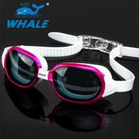 China Swimming Goggles Leakproof Anti Fog Swim Goggles 100% UV Protection Nearsighted wholesale