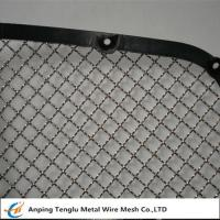 China Stainless Steel Wire Mesh Car Grill|Crimped With Opening 7/16×7/16 wholesale