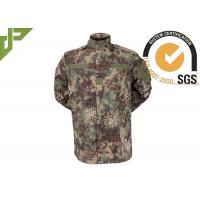 China Ripstop Military Combat Uniform Soft Skin , Army Camo Uniform For Security Department on sale