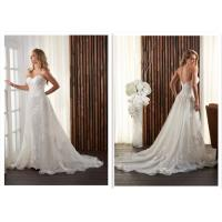 Long Classic Satin A Line Wedding Dress / Ivory Bridesmaid Dressing Gowns