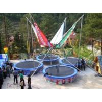 China Outdoor Bungee Jumping Trampoline Facilities For Recreation Series wholesale