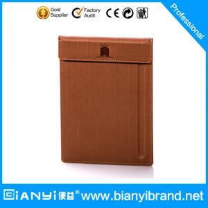 China Fashion hotel leather product menu clip,leather holder,leather menu case on sale