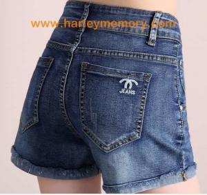 China fashion woman jeans short pants on sale