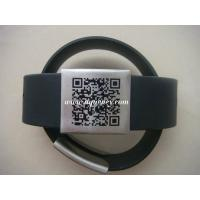 China Adjustable Safety ID Alert Bracelet/Wristband,Silicone metal ID bracelet wholesale
