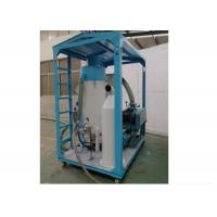 China 60m Portable Sand Blasting Machine , Repairing Ship Electric Blasting Machine  wholesale