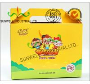 China Custom Printed Corrugated Cardboard Fruits Packaging Boxes Matt Lamination wholesale
