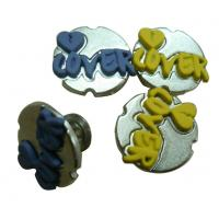 China Zinc Alloy Custom Clothing Buttons Eco freindly With Rubber For Jeans on sale