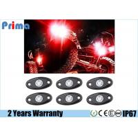 China Red Led Rock Lights Jeep Suv Vehicles Undergrand lights Waterproof IP68 wholesale