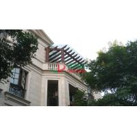 China UV Resistance Pergola Attached To House , Fading Resistance Wall Attached Pergola wholesale