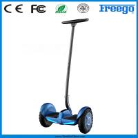 China Portable Lithium Battery 2 Wheeled Electric Standing Scooter For Policeman wholesale