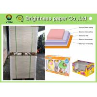 China Strong Stiffness Food Grade Paperboard , Coated Glossy Paper 230gsm ~ 400gsm wholesale