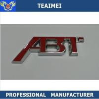 China 3D ABS Chrome Body Sticker Car Letter Emblems Badge For ABT wholesale