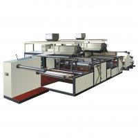 Double Screw PE Plastic Film Extrusion Machine Two Extruders High Efficiency