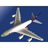 China Metal Airplane Model for FedEx Express wholesale