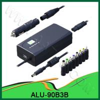 China AC&DC 90W Universal Laptop Adapter for Home&Car&Airplane use ALU-90B3B wholesale