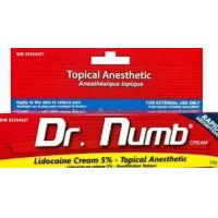 China OEM Dr.Numb Lidocaine Pain Relief Tattoo Anesthetic Cream wholesale
