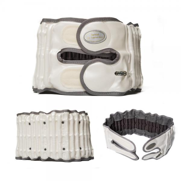 Quality CE Approved Back Support Belt With Air Pump Manual Pump Inflate Long Lifespan for sale