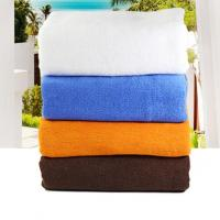Hot sale 21S cotton plain terry bath towel 80*180cm, 600g for wholesale with 4 colors available