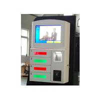 China Magstripe Card / IC Card / Member Card Accepted Cell Phone Charging Station with 19 Inch Touch Screen wholesale