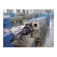 China Full Automatic Conical Twin Screw Extruder , PVC Pipe Production Line With Siemens Motor wholesale