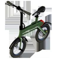 "China Green Power Foldable Electric Scooter , 12"" Electric Wheel Bike wholesale"
