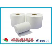 Extra Thick Non Woven Material / Spunlace Non Woven Fabric For Industrial , Eco Friendly
