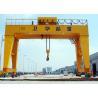 China High Strength Double Girder Gantry Crane Heavy Lift Crane FEM / DIN Standard wholesale